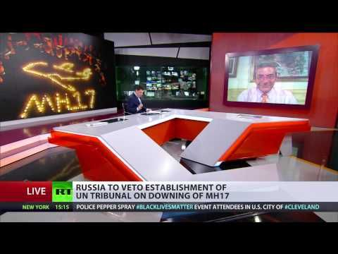 Russia to veto UN tribunal on MH17 crash: 'This will be a propaganda cir...