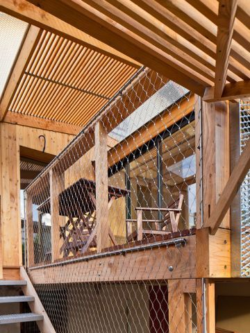 73 best images about escaliers gardes corps on pinterest for Wood mezzanine construction plan