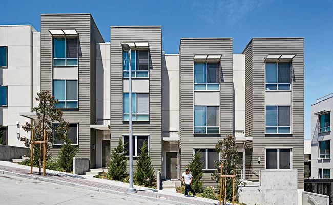 Hunters View Redevelopment | Paulett Taggart Architects | San Francisco | Building Types Study | Architectural Record