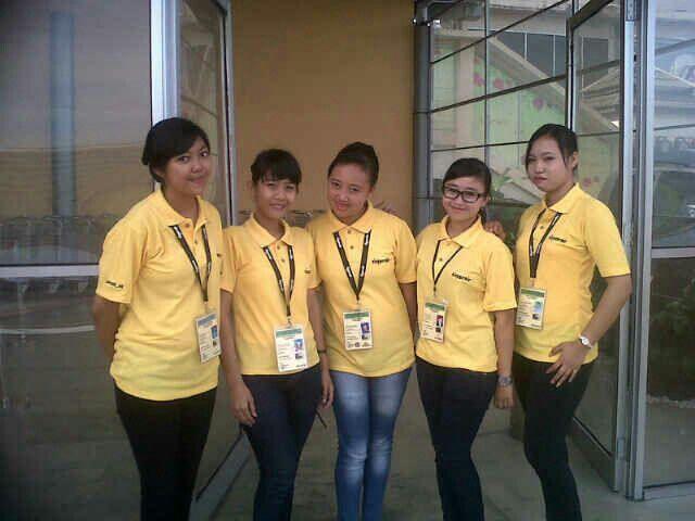 Pada saat baju seragam tiger bdo dipakai ,langsung foto :-)