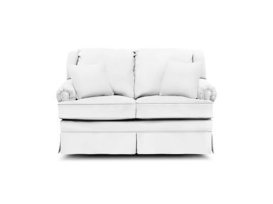 Shop For England Loveseat Glider, And Other Living Room Loveseats At Banner  Mattress In Toledo, OH. This Traditional Frame Sports Semi Attached Backs  With ...