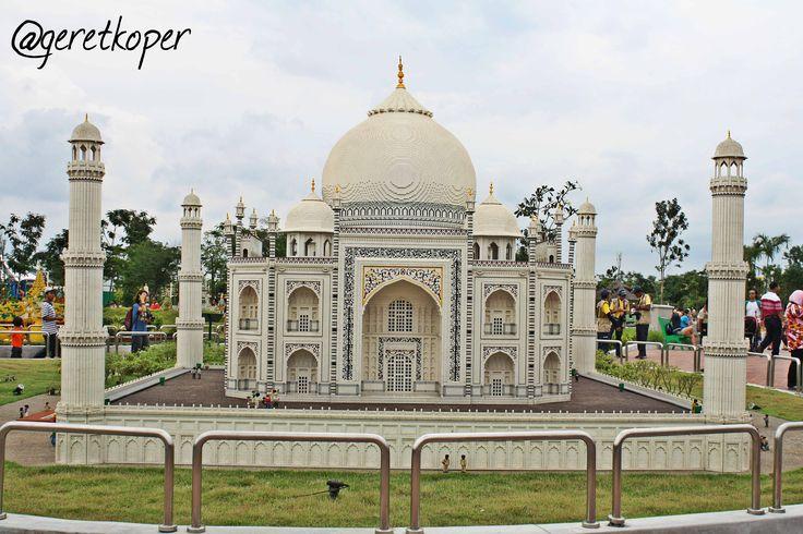 Taj Mahal, ini baru miniaturenya aja, someday mau ngelihat yang benerannya :)
