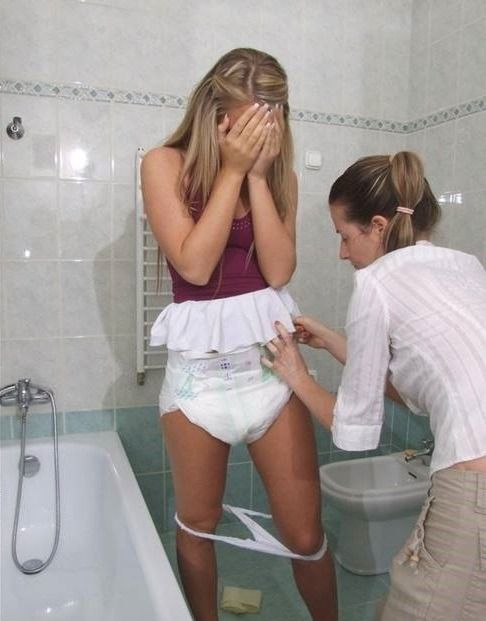 Diaperlover, Adultbaby And Diaperslave  Diaper Girl In 2019  Nappy Change, Wet Pants-3530