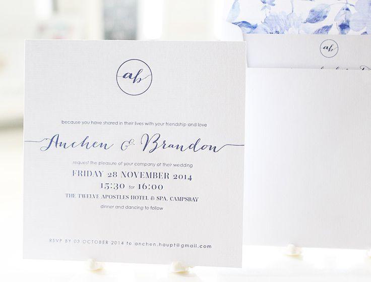 155 best Wedding invitations images on Pinterest