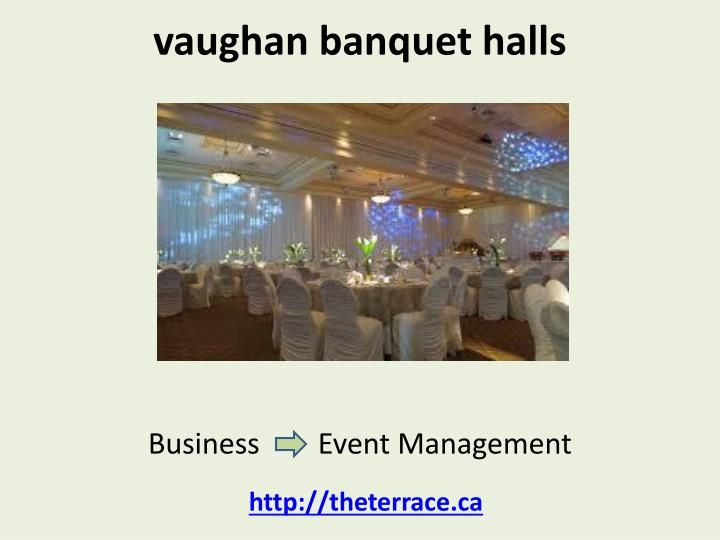 There are so many new occasion and event occurring with time all such needs to have the best of arrangement so that all events can be properly managed. The Banquet halls vaughan are the right place where all such things can be planned and accordingly organized. The important thing before selecting the vaughan banquet halls is its price and other amenities on offer.