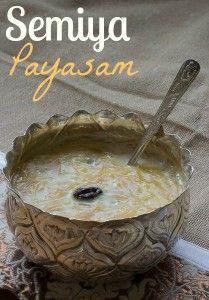 semiya-payasam-vermicelli-pudding-seviyan-kheer-tamil-new-year-onam-recipe  kannammacooks.com #pudding #payasam #festival #dessert #sweets #milk-pudding