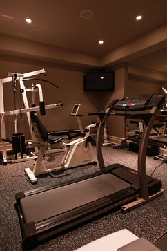 Warrington Pa Traditional Home Gym Other Metro By Mack And Roedel Construction Co Traditional House Home Gym Home