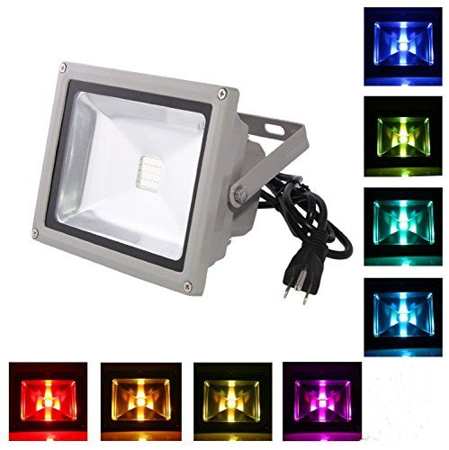 170 best best solar lights outdoor lighting reviews images on waterproof outdoor security led flood light spotlight high powered rgb color different color tones with plug and remote control mozeypictures Choice Image