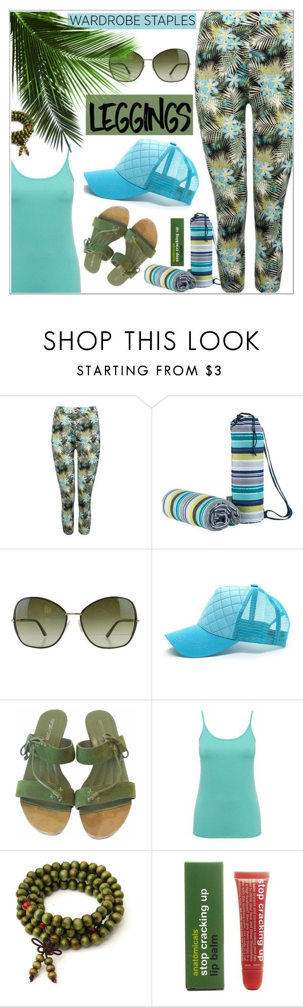 """Wardrobe Staples: Leggings"" by rasa-j ❤ liked on Polyvore featuring M&Co, Tom Ford, Sergio Rossi, Anatomicals, Leggings and WardrobeStaples"