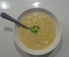 Recipe chicken and sweet corn soup by luana - Recipe of category Soups