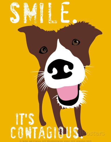Smile Prints by Ginger Oliphant - at AllPosters.com.au