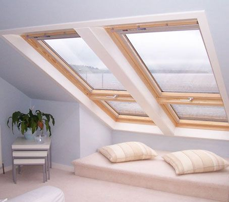 Dorma windows in loft conversions are lovely - love the light and freshness.