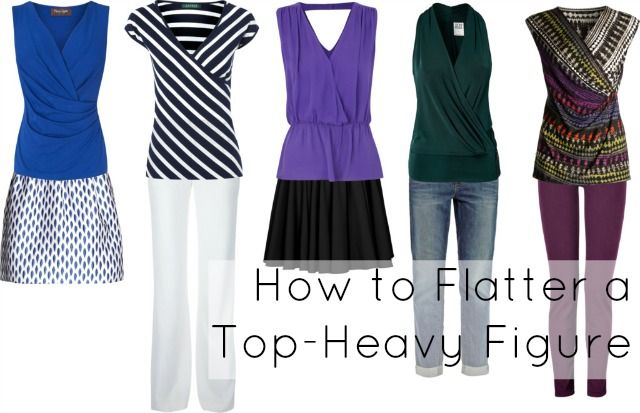 Ask Allie: Dressing a Top-Heavy Figure
