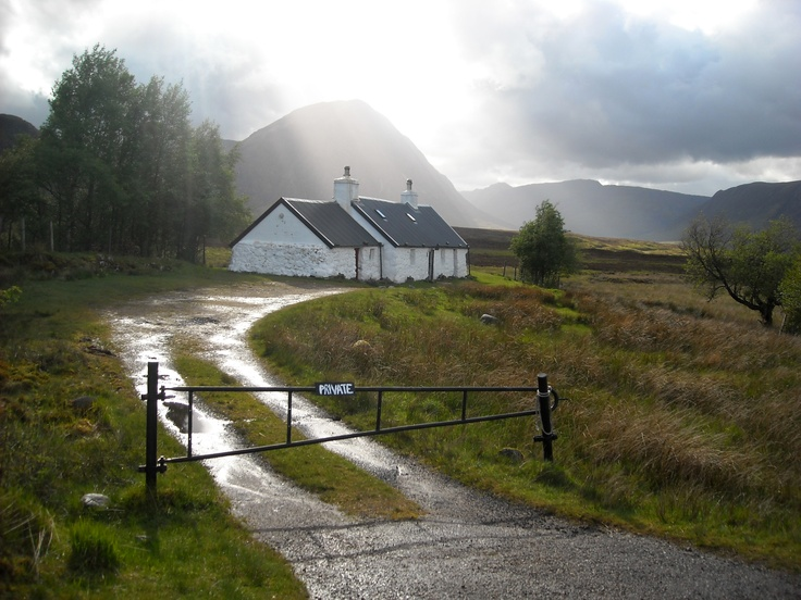Scotland - West Highland Way - nearby Kings House Hotel - Glencoe