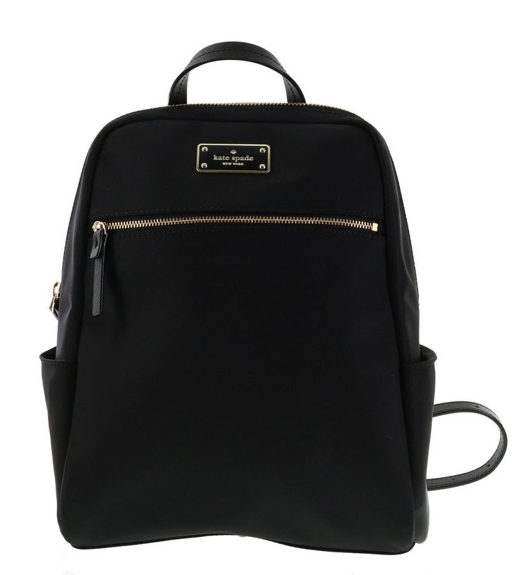Kate Spade New York Blake Avenue Hilo Small Backpack (Black)