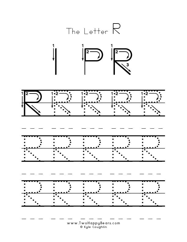 Practice Worksheet For Writing The Letter R Upper Case With Several Connect Alphabet Writing Practice Free Printable Alphabet Worksheets Alphabet Worksheets Letter r tracing worksheets preschool