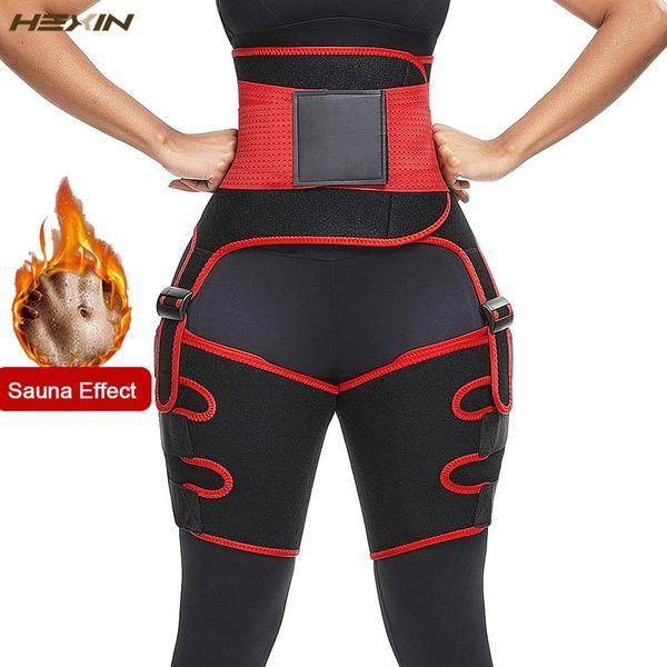 High Waist Trimmer Sauna Sweat Thigh Slimming Body Shaper Neoprene Butt Lifter