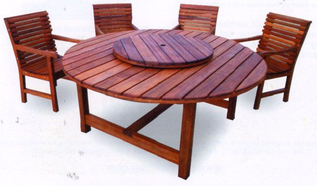 17+ Best Ideas About Round Outdoor Table On Pinterest