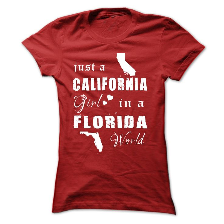 CALIFORNIA GIRLS IN FLORIDA T Shirt, Hoodie, Sweatshirt