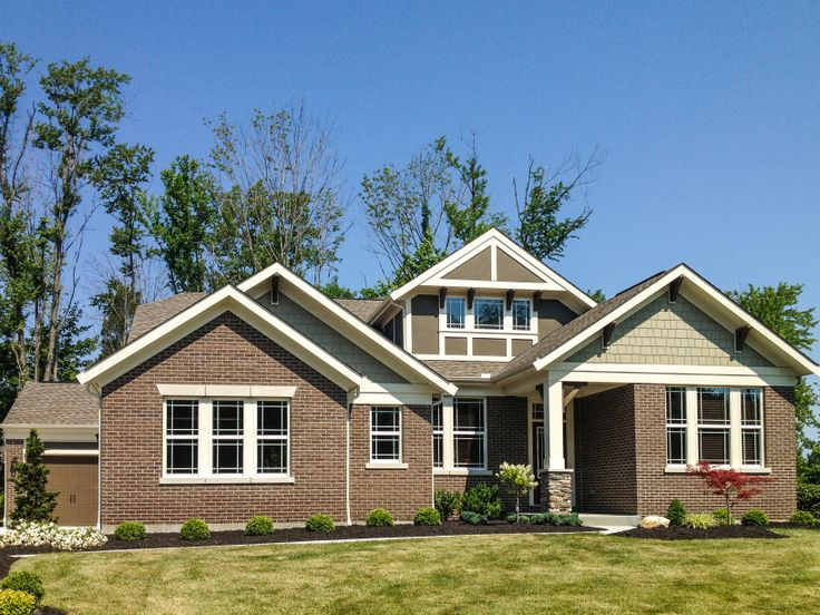 18 best fischer homes images on pinterest exterior for Craftsman model homes