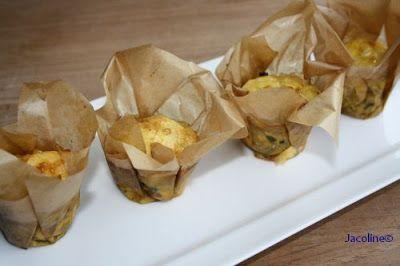 Gezond leven van Jacoline: Prei ham muffins