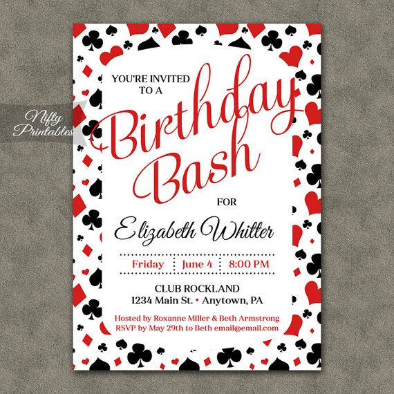 Christmas Party Ideas For AdultsPrintable Invitations