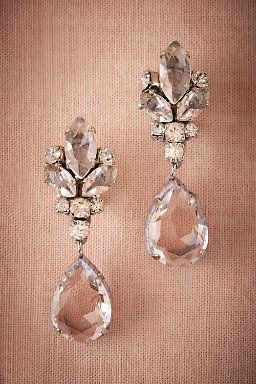Vianne Earrings by BHLDN   ||  Perfect  Wedding or Bridesmaid Earring   ||  Follow @KWHBridal
