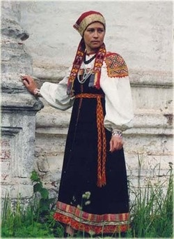 Folk costume of Tver Oblast, Russia