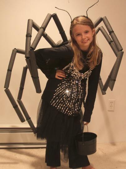 DIY Easy Spider Halloween Costume   how-tos   DIY