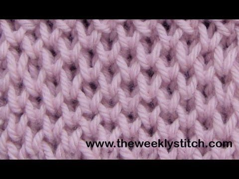 Honeycomb Brioche - an extremely clear video of how to accomplish this beautiful stitch