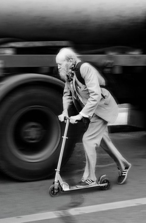 love the geriatric go getter whimsical real life photo things on wheels. | © Vasily Chekorin