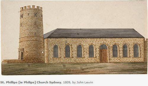 GenieQ: Wordless Wednesday - St Phillip's Church Sydney #genealogy
