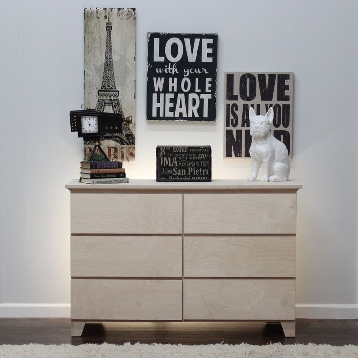 Perfect Gothic Cabinet Craft   Flat Shaker Dresser W/ 6 Drawers, $419.00 (http: