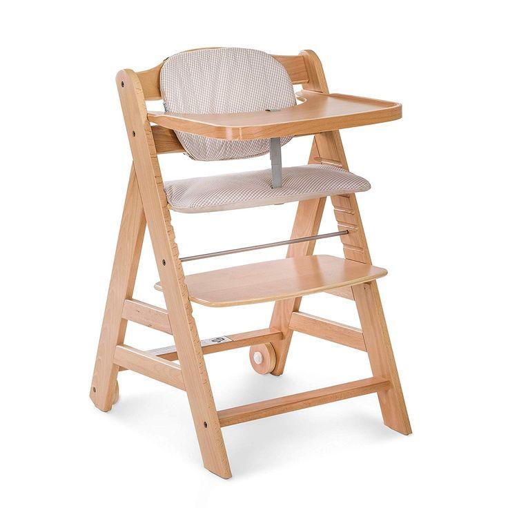 Hauck Beta Plus Wooden Highchair High Chair Outdoor Chairs Wooden