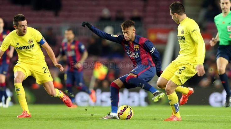 fc barcelona vs villareal 3-2