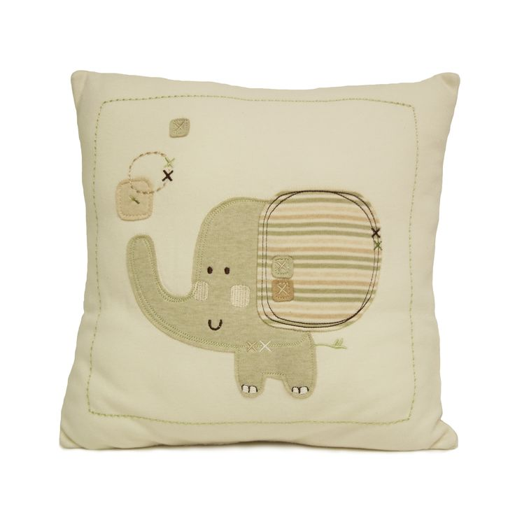 Farallon Natures Purest Sleepy Safari Decorative Pillow