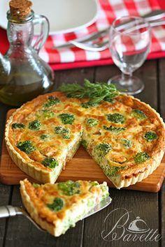 Quiche de salmón, brócoli y quesoBavette | Bavette