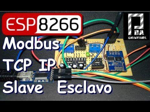 ESP8266 Mode Bridge Modbus RTU Slave - Modbus TCP IP Slave