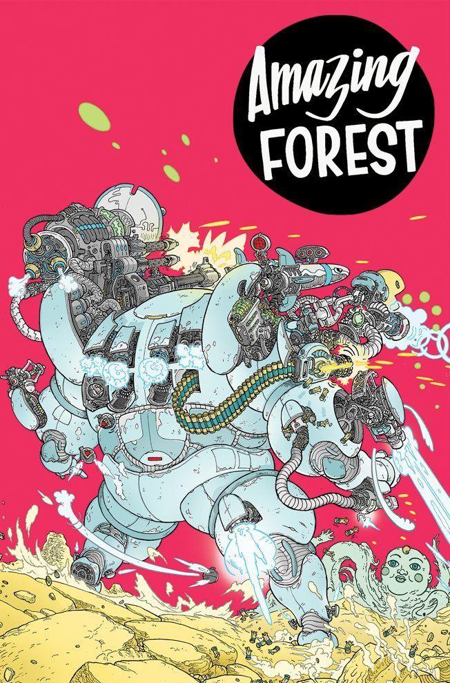 Amazing Forest TPB – IDW Publishing
