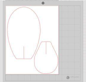 Eu fiz Silhouette® corte arquivos para cortar minhas pétalas de cartão de estoque