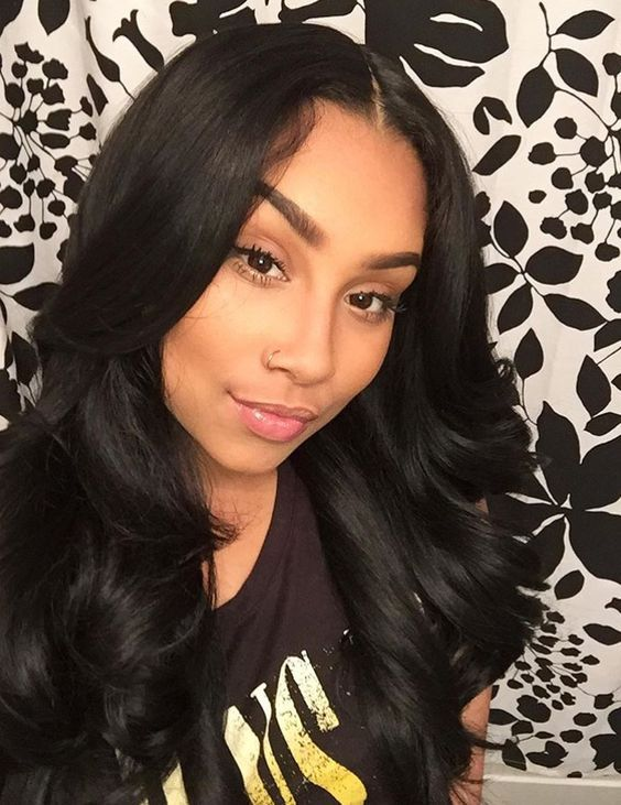 Like what you see? Follow me for more: @uhairofficial brazilian body wave virgin human hair weave extensions