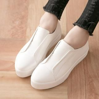 Buy 'FM Shoes – Faux-Leather Slip-Ons' with Free International Shipping