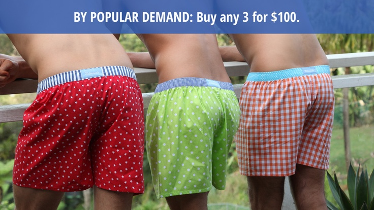Free delivery on orders over $100 anywhere in #Australia #boxers #giftsformen #Christmas #present