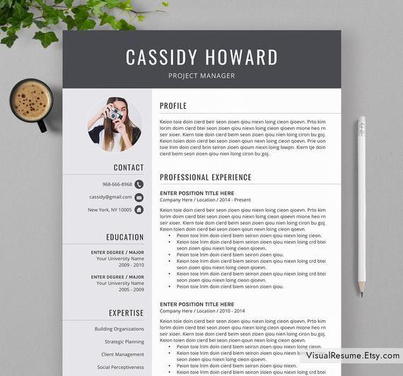 Professional Resume Template For Ms Word Creative Cv Template Modern Resume Design Teacher Resume Stem Resume Instant Download Resume Resume Template Modern Resume Design Cv Template