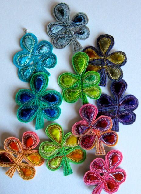 embroidered velvet and felt - dogdaisy92