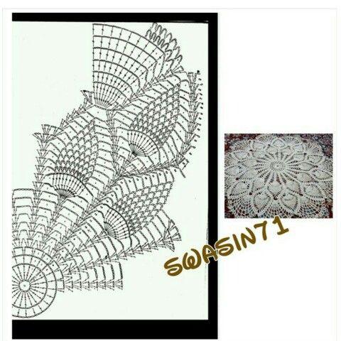 #crochet#crocheting#yarn#handmade#craft #أعمالي#hook #Stitch #غرزة# #كروشيه#خيوط#خيط#أشغال#أعمال#يدوية#باترون#باترونات#جميل#doily#صنارة#سنارة#napkin#مفرش #learn#مفرشي#أعمالي