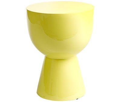 Tabouret Tam tam - Pols Potten #yellow #jaune #deco