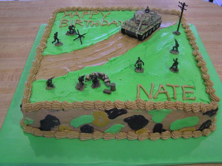 ... Army birthday cakes on Pinterest  Army cake, Armys birthday and Army