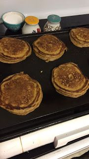 Reason's To Smile!!:   Pumpkin Pancakes Made these for Halloween breakf...