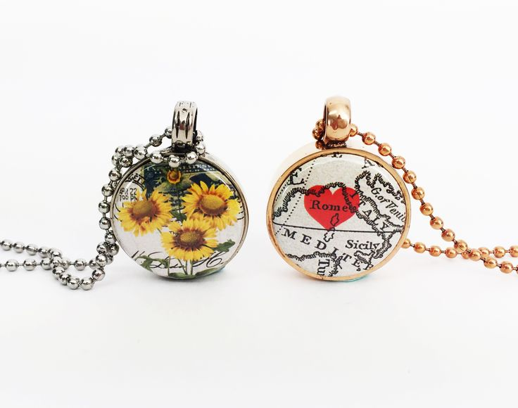 New buttons in our Maps & Postcard button collection. Set in our tlb pendants   www.twolyttelbuttons.co.nz